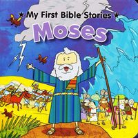 3299 紙板書 My First Bible Stories系列 -- Moses 摩西 [課外書]