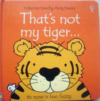 3270 亞馬遜五星好書 Usborne Touchy-Feely Book -- That is Not My Tiger 觸感書  [課外書]