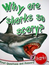 3320 First Questions and Answers Shark: Why are Sharks So Scary? (精裝) [課外書]