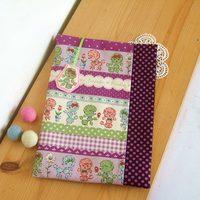 手縫拼布材料包   迎賓曲布書衣