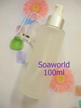 白色磨沙玻璃樽 100ml (滴樽)