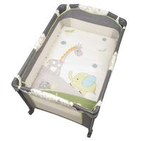 言B小店 - 獨家專櫃最新款Danilove 床邊可調高低雙層BB床,嬰兒網床送公仔架 速遞+$60