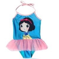最新 Disney Princess Snow White 迪士尼白雪公主 女童 泳衣