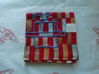 全新Vivienne Westwood紅色長方形Logo手巾