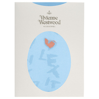 全新Vivienne Westwood淺藍色粉紅心Let It Rock絲襪