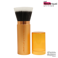 美國正貨 Real Techniques Retractable Bronzer Brush 攜帶型伸縮修容刷蜜粉刷 #01417