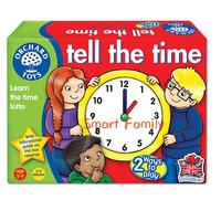 英國直送-Orchard Toys - Tell the Time  我的一天 / 教育遊戲 / 拼圖 / 親子家庭記憶配對模擬/ 時鐘數學/加減 玩具