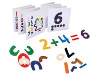 台灣制 Playme- 數字拼圖 123 創意發想 / 觀察對應 / 數學概念 圖案