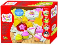 韓國Donerland Angel Sand Cake Set 仿沙旦糕套裝 流動沙kinetic 感官觸覺 小手肌 提高專注力黏土
