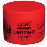 澳洲直送 Lucas Papaw Ointment 木瓜萬用霜75g / 嬰兒護膚用品/ 防蚊/