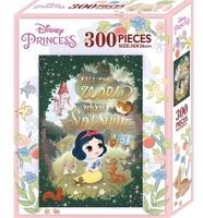 台灣直送 - 正品迪士尼 DISNEY 300塊拼圖 -C. Q版Snow White白雪公主 4y + PUZZLE