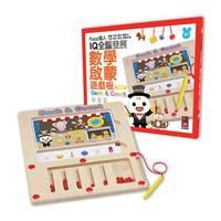 台灣直送- FOOD超人IQ全腦發展數學啟蒙遊戲板 / 3y+ 4y+ 5y+ /兒童玩具 /感覺統合/ 邏輯思考/ 手眼協調 / 親子送禮/ 兒童玩具/ 學前