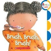 學習自己刷牙 BRUSH BRUSH BRUSH (硬板書) / BB 學前自理書/ 0y+ 1y+ 2y+ 3y+
