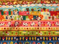 5522L 手工藝布料 日本棉布 -熊貓 -只剩1份