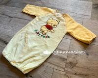 現貨 出口 BB 維尼 純棉 絨裡 Pooh 初生 2 ways 兩用款 一件可變2個款 夾衣 睡袋 (出口款自讓,現貨好少,睇啱快手留貨!!)