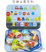 出口蒙特梳利串珠玩具(鐵盒),清貨$28,自取限藍田匯景,平郵+7.5一件,或順豐到付$20