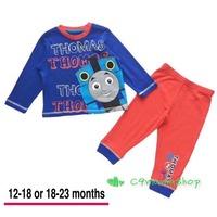 出口 英國 BB 童裝 Thomas 火車 100% cotton 純棉 舒服 透氣 家居套 睡衣 上衣 長褲 套裝 (現貨,自讓款少量,‼️PM前請先看內容資