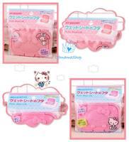 出口 日本 BB用品 必備 Kitty Melody 濕紙巾 防乾 套 盒蓋 環保 可多次重復使用