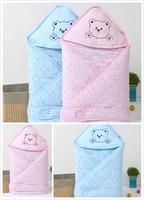 春夏嬰兒純棉薄款抱被 / 新生嬰兒抱毯 / 全棉BB睡袋 0-2歲