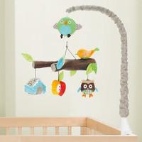 新生兒 貓頭鷹音樂旋轉床鈴 / 嬰兒床頭掛飾  貓頭鷹款