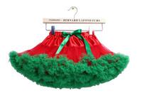 歐美兒童網紗蓬蓬公主裙/ 蓬蓬聖誕裙/ 表演裙