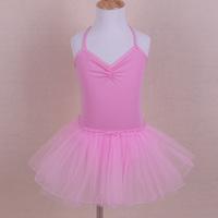 春夏女童吊帶芭蕾舞紗裙 / 兒童舞蹈蓬蓬裙 / 兒童練功服 / 女童舞蹈服