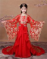 兒童唐朝貴妃服 / 兒童古裝仙女服
