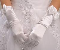 兒童長款 禮服手套 / 花女手套 / 女童長款五指手套