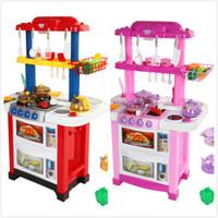 兒童仿真過家家廚房玩具 / 兒童豪華雙面枱面廚具