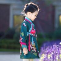女童中式中國風韓服 / 兒童復古長袖漢服