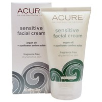 Acure Organics, Sensitive Facial Cream,堅果油+向日葵氨基酸敏感面霜(不含香料) 50ml