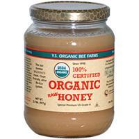 Y.S. Organic Bee Farm 100% Certified Organic Raw Honey 1 lbs 有機認証蜜糖