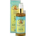 Badger -USDA Organic Baby Oil 4 oz 有機認證滋潤按摩沐浴油