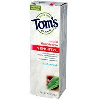 Tom's Of Maine, Inc. Paste for Sensitive Teeth Wintermint 4oz 防敏牙膏