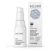 Acure Organics, 100% Certified Organic Moroccan, Argan Oil Treatment, All Skin Types, 30 ml 有機認證摩洛哥堅果油