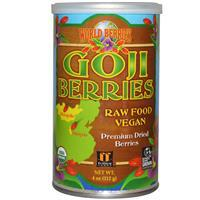 World Berries, USDA Organic Goji Berries, 4 oz 有機杞子