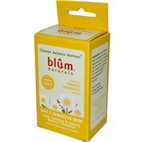 Blum Naturals-Daily Cleansing & Makeup Remover Towelettes, Dry & Sensitive Skin, Chamomile, 10 (10 Individually Wrapped)草本精華即棄卸妝紙巾10張(獨立包裝)(適合乾性及敏感性)