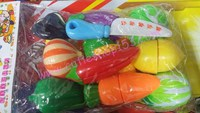 Cutieshop153 益智玩具積木玩具~切切看~ 蔬果 #160351