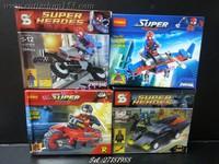 2013年Cutieshop153 益智啟蒙玩具積木~ 小玩具lego 反斗車王/每盒 #141633