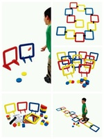 幼兒園感統訓練多功能泡沫遊戲套圈~160311