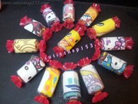 Cutieshop153 回禮生日party節日禮物包~ 小朋友生日會回禮禮物包 ~糖果毛巾小方巾(細)需訂購 #166606