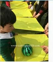 兒童體育器材遊戲設施~親子運動運球方巾道具 #170325