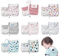 QTeeShop - (限定優惠3件或以上$15/件) 男女童裝 嬰兒用品 4層紗布雙面純棉吸汗巾 (一條裝) - PNC844
