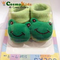 BB立體公仔襪, 小青蛙, 2對$58【嬰兒用品】