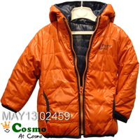 CosmoKids 歐洲童裝 - Mayoral, 小童, 秋冬兒童外套Jacket, 雙面, 橙/藍色 (18M, 24M)