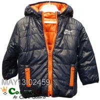 CosmoKids 歐洲童裝 - Mayoral, 小童, 秋冬兒童外套Jacket, 雙面, 橙/藍色(#18M, 24M)