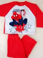 外貿原單漫威人物 Marvel Spiderman 蜘蛛俠 男童套裝 #47