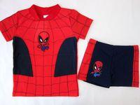 外貿原單 漫威人物 Marvel Spiderman 蜘蛛俠 男童泳衣 泳裝 #612A
