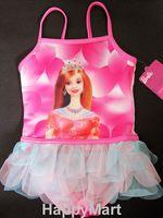 外貿原單正品Barbie 芭比公主可愛女童泳衣 泳裝 #921