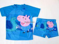 可愛 Peppa Pig 佩佩豬男童泳衣 泳裝 #720